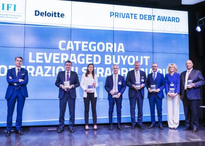 Candidati alla categoria Leverage buyout